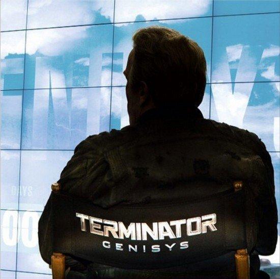 "Arnold Schwarzenegger ""Terminator: Genisys"" (2015)"