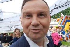"""Andrzej Duda wyjaśnił, co miał na myśli mówiąc o """"tych komuchach"""" w Sądzie Najwyższym."""