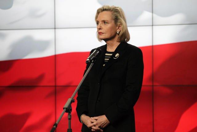 Anna Maria Anders ponoć musiała wyjechać z Warszawy, dlatego nie wzięła udziału w podlaskiej debacie przed wyborami uzupełniającymi do senatu.