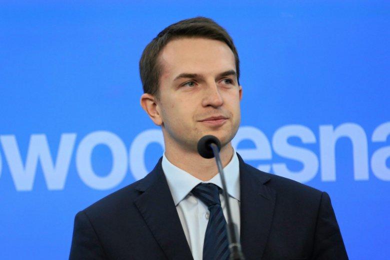 Adam Szłapka nie wiedział, kim był Józef Chełmoński.