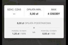 Taksówka w Warszawie za 93 grosze za kilometr? Dzięki aplikacji Uber to może być możliwe.