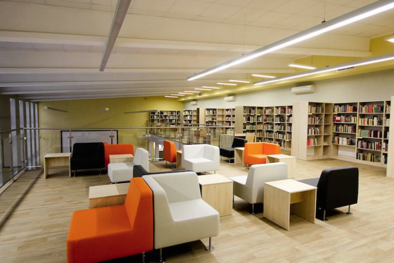 Biblioteka multimedialna w Wałbrzychu