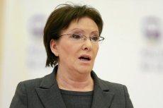 Ewa Kopacz przekonuje, że najważniejsze dla niej jest słuchanie zwykłych Polaków.