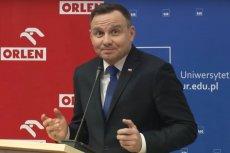 Andrzej Duda stwierdził, że wraz ze wzrostem pensji rosną ceny towarów i usług, czym naraził się na kpiny internautów.