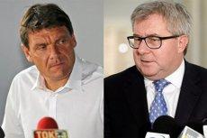 Adam Korol (z prawej) o kwalifikacjach Ryszarda Czarneckiego na szefa Polskiego Komitetu Olimpijskiego: – Nie ma żadnych.