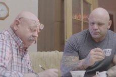 Nietypowy filmik z ojcem i synem w rolach głównych powoli staje się hitem sieci.