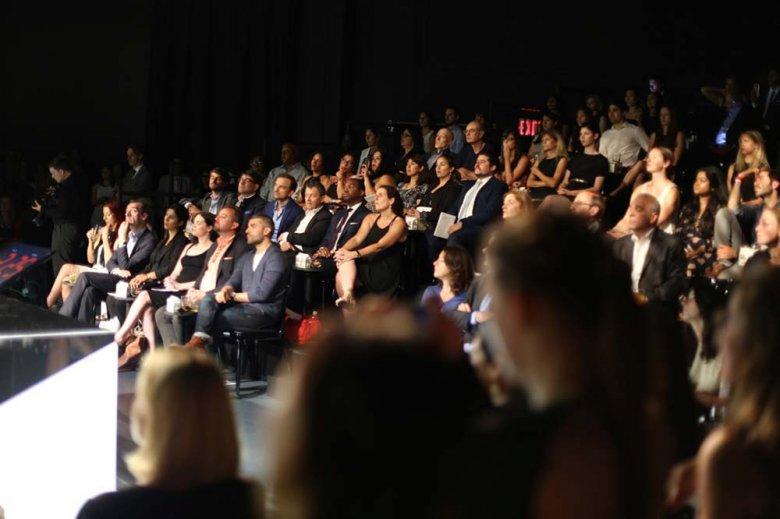 Widownia finału The Venture w Nowym Jorku