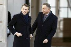 Prezydent Francji Emmanuel Macron rozpoczął dwudniową wizytę w Polsce.