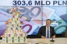 Donald Tusk na konferencji prasowej po uchwaleniu budżetu UE