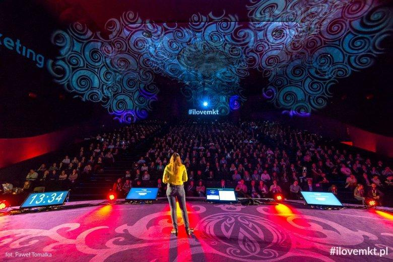 Katarzyna Granops-Szkoda podczas konferencji I Love Marketing
