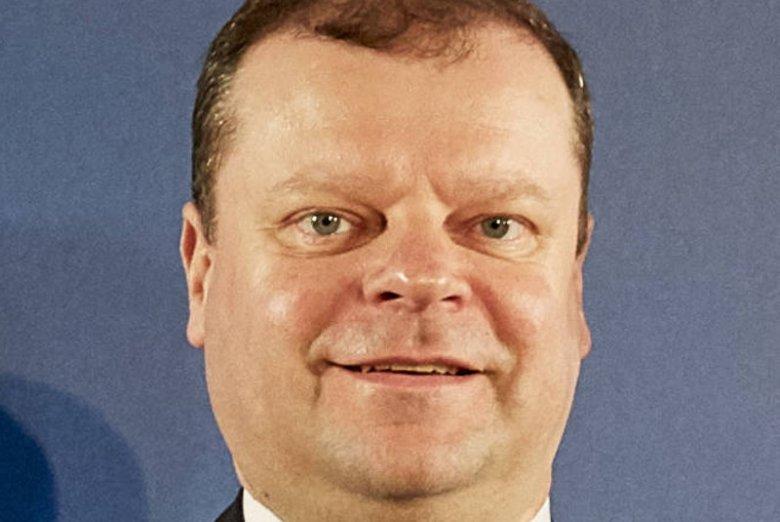 Saulius Skvernelis jest premierem Litwy od 13 grudnia 2016 r.
