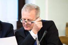Były wiceszef KNF Wojciech Kwaśniak tłumaczył na antenie TVN24, że jest ofiarą, a nie sprawcą przestępstwa.