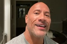 The Rock udostępnił uroczy fotomontaż.