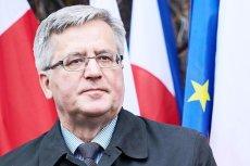 Czy Bronisław Komorowski rzeczywiście chce wystartować w wyborach do europarlamentu?
