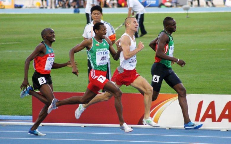 Jeśli już biegniesz, to zawsze walcz do końca, nie bój się utytułowanych rywali.