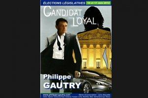 Philippe Gautry zaprezentował się jako James Bond, przerabiając plakat do filmu Casino Royal.