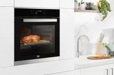 Piekarnik parowy Beko to rewolucyjne rozwiązanie w sztuce przyrządzania posiłków. Tego rodzaju urządzenie pozwala na pieczenie konwencjonalne, gotowanie na parze i pieczenie na parze