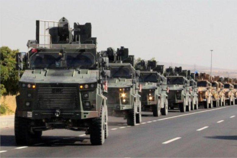 Wojska tureckie przekroczyły granicę z Syrią.