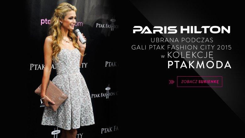 Paris Hilton w Ptak Fashion City