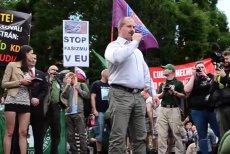 Jeden z wieców przeciwko islamizacji Europy.