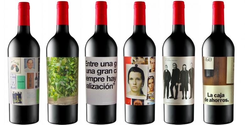 Kolekcja butelek zaprojektowana z okazji 60. urodzin Enrica Aguilera.