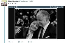 Wpadka Semki na Twitterze.