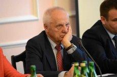 Stefan Niesiołowski kolejny raz stał się bohaterem seks skandalu