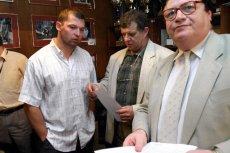 Prezes PZPC Zygmunt Wasiela (z prawej) zarzuca Szymonowi Kołeckiemu niszczenie dobrej opinii o dyscyplinie