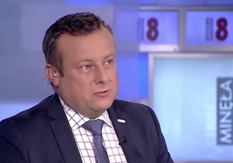 Adrian Klarenbach z TVP Info ostro skomentował wpisy Joachima Brudzińskiego.