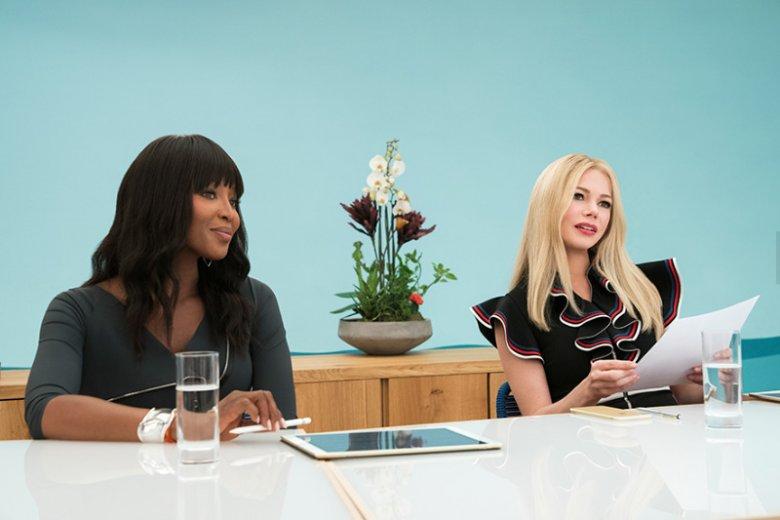 W filmie zobaczymy również Naomi Campbell i Michelle Williams, które wcielająsię w przedstawicielki marki produkującej ekskluzywne kosmetyki.