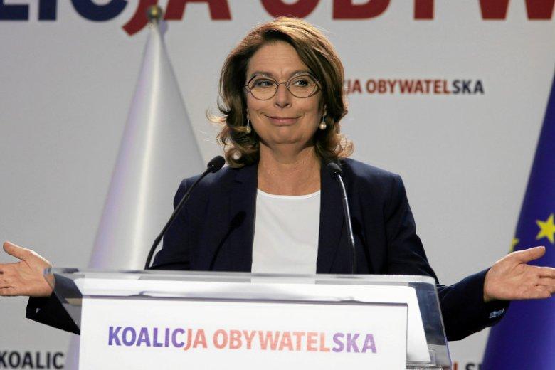 Małgorzata Kidawa-Błońska o obietnicach PiS.