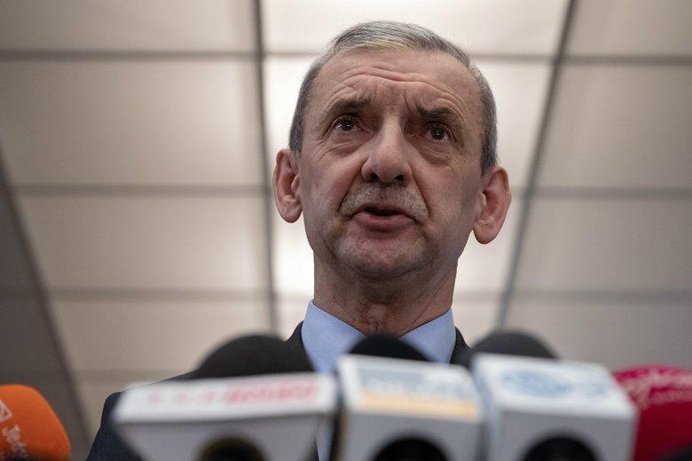 Sławomir Broniarz, szef ZNP, chce jak najszybszego zwołania okrągłego stołu.