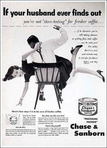 Seksizm w reklamie sięga zamierzchłych czasów.