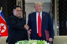 Donald Trump spotkał się z Kim Dzong Unem i nawet zapowiedział, że go zaprosi do Białego Domu.