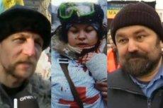 Bohaterowie Majdanu - skatowany kozak Michaił Hawryluk, 21-letnia Olesya Zhukovka, motorniczy z metra