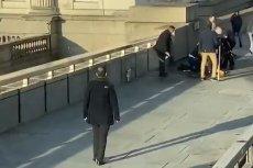 Policja zastrzeliła nożownika na London Brigde.