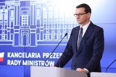 Mateusz Morawiecki pochwalił sie udaremnieniem największego przemytu narkotyków w Polsce w ostatnich 30 latach.