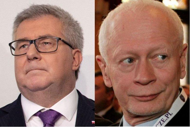 Ryszard Czarnecki i Michał Boni nie mogą być pewni swoich mandatów w PE.