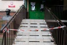 Do kiedy będą zamknięte szkoły w związku z koronawirusem. Na zdęciu szkoła podstawowa przy ul. Limanowskiego w Warszawie.