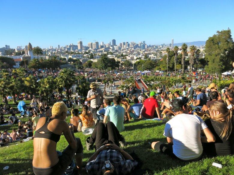 Dolores Park, San Franciso