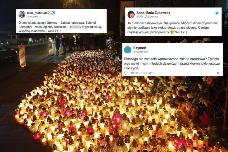 Mieszkańcy Koszalina od piątku zapalają znicze przy miejscu tragedii