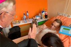 Ksiądz Jerzy Kozłowski dochodzi do siebie w jednym ze szpitali w Zakopanem.