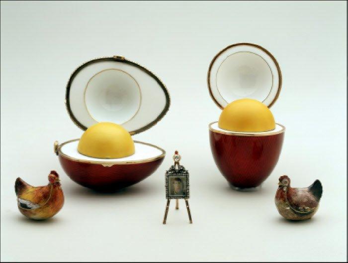 Jaja Faberge wraz z niespodziankami