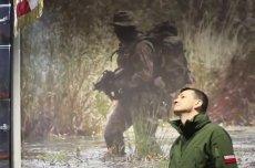 Mateusz Morawiecki w jednostce GROM. Przebrał się za komandosa.