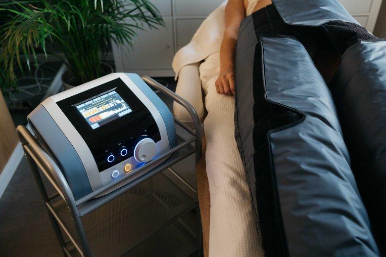 Urządzenie do drenażu limfatycznego