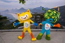 Maskotki przyszłorocznych Igrzysk Olimpijskich (z lewej) i Paraolimpijskich (z prawej) w Rio de Janeiro