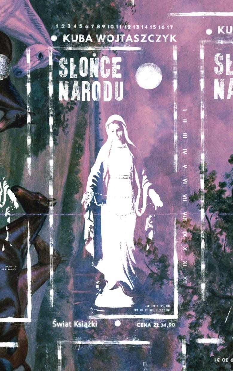 """Okładka  """"Słońce narodu"""" wydanej przez Świat Książki"""