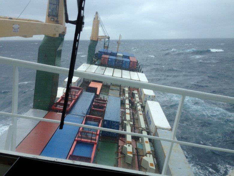 Podróż na pokładzie kontenerowca może okazać się niesamowitym przeżyciem.