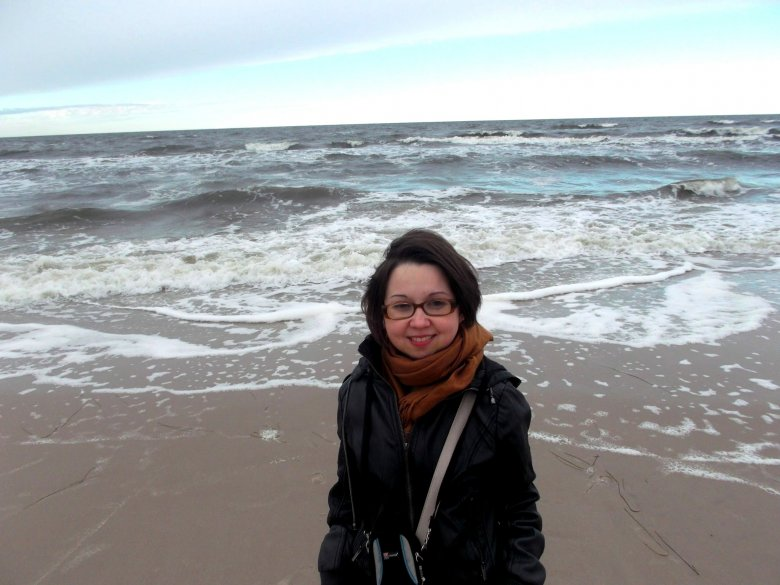Ela i morze :)