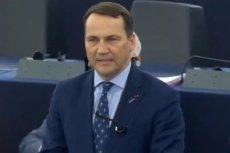 Europoseł Radosław Sikorski (KO) ostro starł się z europosłanką Beatą Szydło (PiS) podczas debaty PE o łamaniu zasady praworządności przez PiS.